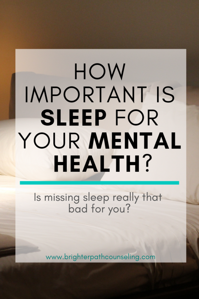 How Important Is Sleep For Your Mental Health?