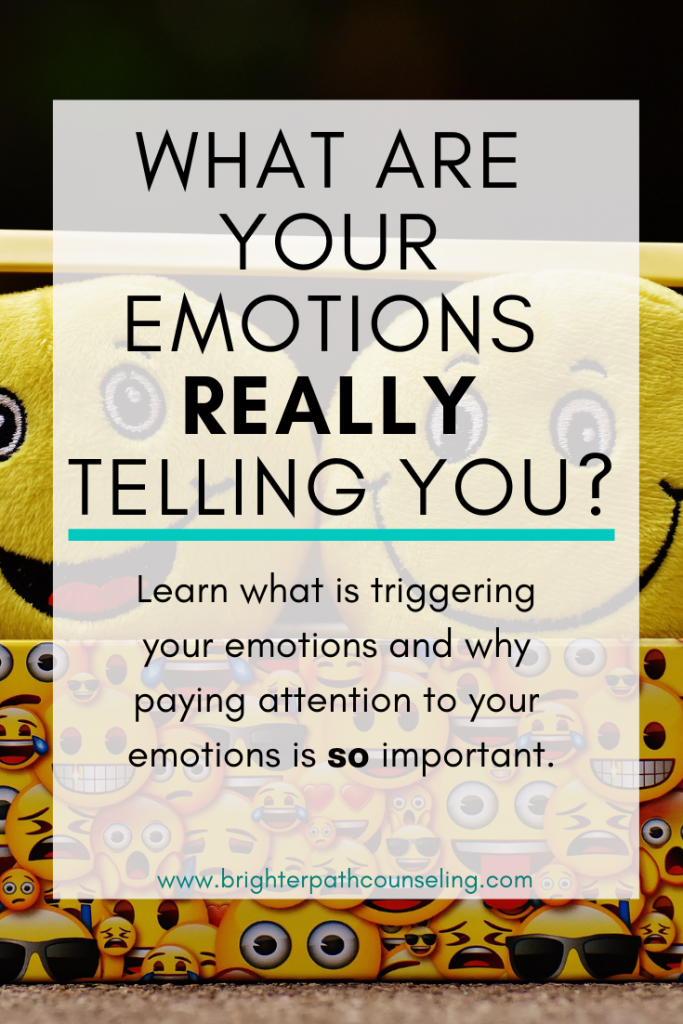 Emotions are complicated and can be difficult to decipher.  Learn what is triggering your emotions and why paying attention to your emotions is so important.