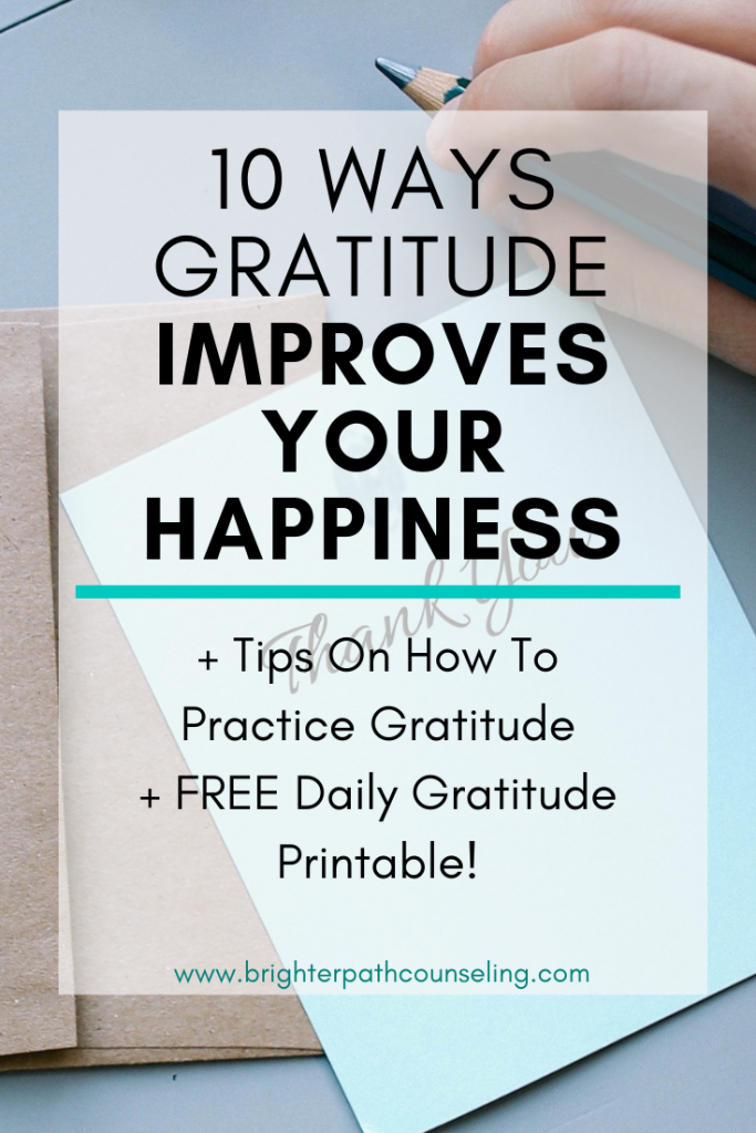 Gratitude has many benefits. Learn 10 reasons how gratitude can help your mental health, and tips on how to start being more grateful today.