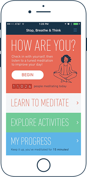 Stop, Breathe & Think Best Apps For Anxiety
