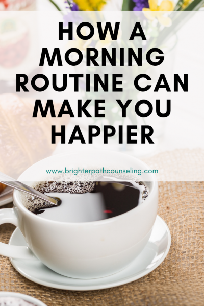 A morning routine can help you feel more productive and take time for yourself before your day actually starts. Learn how you can get these benefits... #morningroutine #selfimprovement #personaldevelopment #selfcare