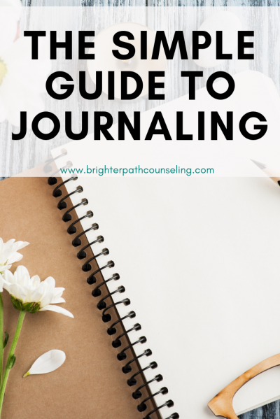 Journaling can be incredibly therapeutic; there is no doubt about it. Looking to get started? Start with my simple guide to journaling... #journaling #anxietytips #mentalhealth #selfimprovement #stressrelief