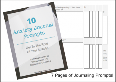Anxiety Journal Prompts